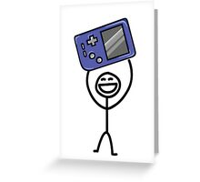 Game boy Greeting Card