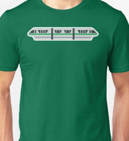 MONORAIL - GREEN Unisex T-Shirt
