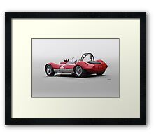 1960 Witton Special 96 Vintage Racecar Framed Print