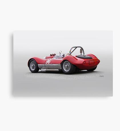 1960 Witton Special 96 Vintage Racecar Canvas Print