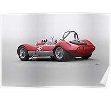 1960 Witton Special 96 Vintage Racecar Poster