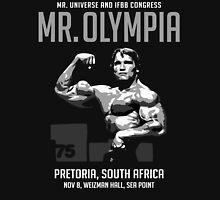 Arnold Schwarzenegger 1975 Mr. Olympia  Unisex T-Shirt