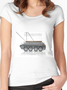 Bergepanzer 38(t) - Armoured recovery vehicle - Hetzer Women's Fitted Scoop T-Shirt