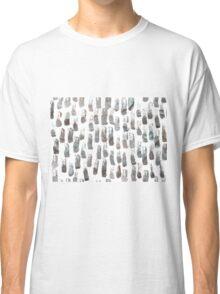 Paint brush Pattern Classic T-Shirt