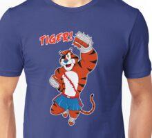 Tiger uppercut! Unisex T-Shirt
