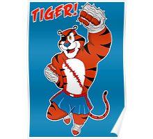 Tiger uppercut! Poster