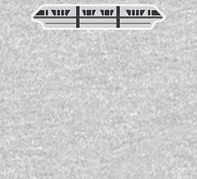 MONORAIL - SILVER Womens Fitted T-Shirt