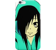 Anime Emo Girl Cartoon iPhone Case/Skin