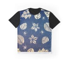 Blue Denim Graphic T-Shirt