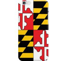 Maryland Flag iPhone Case/Skin