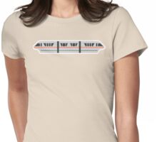 MONORAIL - PEACH Womens Fitted T-Shirt