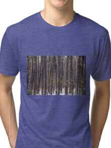 The Pine forest Tri-blend T-Shirt