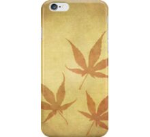 Japanese Maple Leafs iPhone Case/Skin