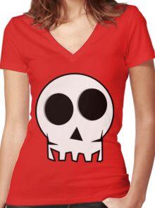 Smilekull Women's Fitted V-Neck T-Shirt