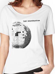 LCD Soundsystem Glitter Ball Women's Relaxed Fit T-Shirt
