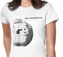 LCD Soundsystem Glitter Ball Womens Fitted T-Shirt
