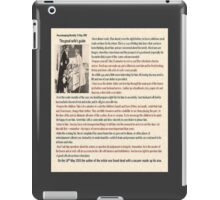 The Good Wife Guide iPad Case/Skin