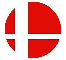Logo Smash Bros Photographic Print
