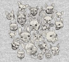FRENCHIE FEVER One Piece - Long Sleeve