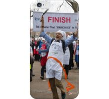 Clive Lewis MP wins the Rehab Parliamentary Pancake Race 2016 iPhone Case/Skin