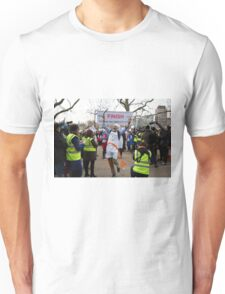 Clive Lewis MP wins the Rehab Parliamentary Pancake Race 2016 Unisex T-Shirt