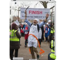 Clive Lewis MP wins the Rehab Parliamentary Pancake Race 2016 iPad Case/Skin