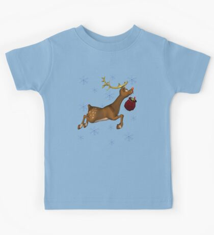 Rudolph the Red Nose Reindeer Kids Tee
