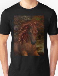 Flame .. A Wild Horse Unisex T-Shirt