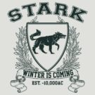 Stark University (Green) by Digital Phoenix Design