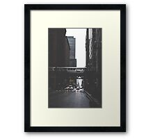 Chicago L #1 Framed Print