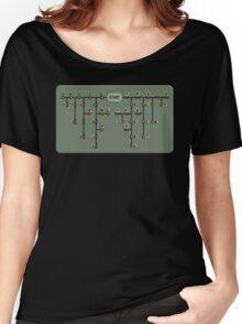 Morse code decoder Women's Relaxed Fit T-Shirt