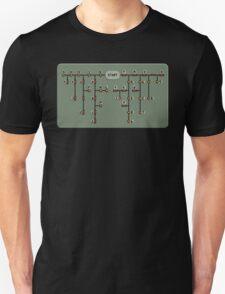 Morse code decoder Unisex T-Shirt
