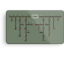 Morse code decoder Metal Print