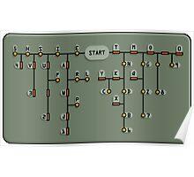 Morse code decoder Poster