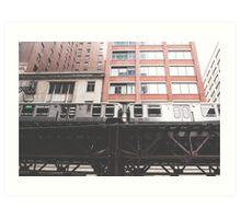 Chicago L #2 Art Print