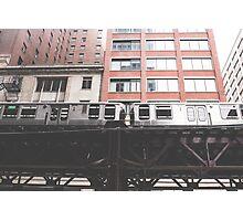 Chicago L #2 Photographic Print