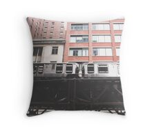 Chicago L #2 Throw Pillow
