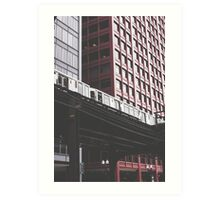 Chicago L #3 Art Print