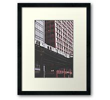 Chicago L #3 Framed Print