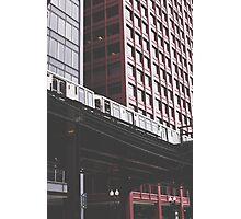 Chicago L #3 Photographic Print