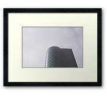 Chicago Skyscraper Simplistic Framed Print