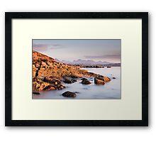 Big Sand Light Framed Print