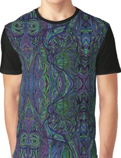 Psychedelic Abstract & Colourful 97 Graphic T-Shirt