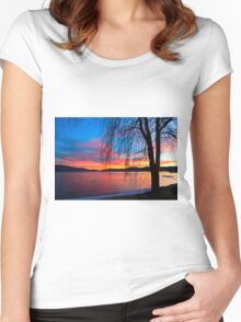 Non Typical Sunset Women's Fitted Scoop T-Shirt