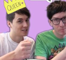 Ugh Dan and Phil Sticker