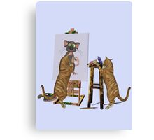 The Artists at Work Canvas Print