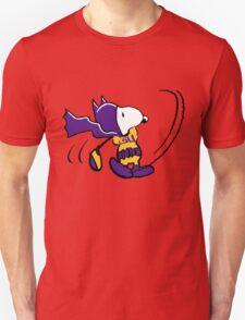 BatSnoopy Playing Golf with LSU Tee T-Shirt