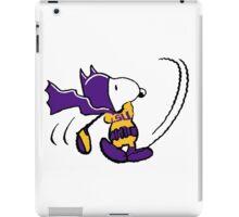 BatSnoopy Playing Golf with LSU Tee iPad Case/Skin
