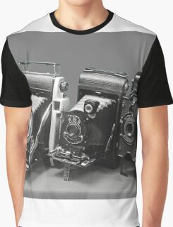 Vintage cameras photography design Graphic T-Shirt