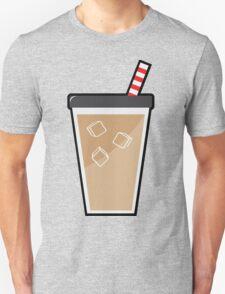 Iced Coffee (Black) Unisex T-Shirt